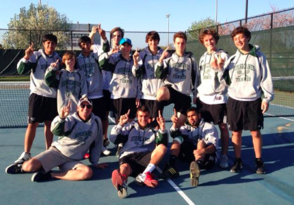 Boys&#8217; Tennis Wins First League Title Since 2009