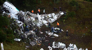Columbia Plane Crash