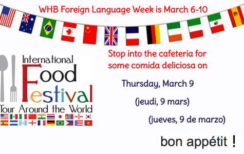 It's Foreign Language Week, WHB!