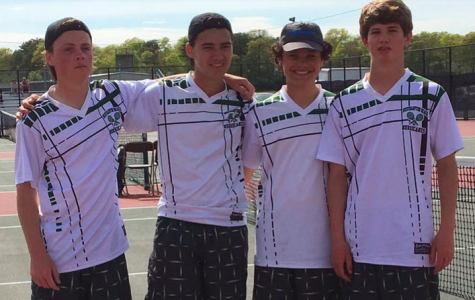 Top Four in Tennis Headed to Counties!