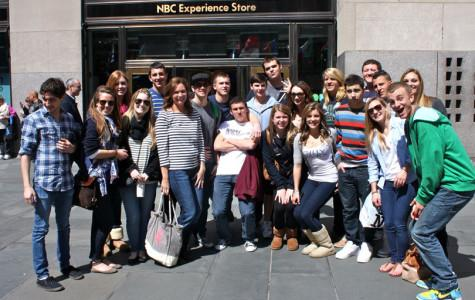 Broadcast Journalism Takes a Tour of NBC Studios