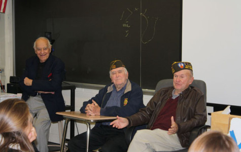 Veterans Visit Social Studies Classes