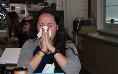 Students Struggle with Springtime Allergies