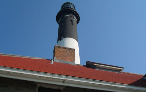 Art Students took a field trip to the Fire Island lighthouse on 9/12/12