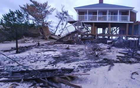 The Hurricanes Battle Hurricane Sandy