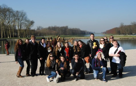 18 students attended the France Trip this past February break.