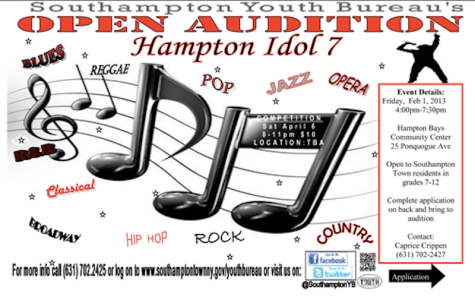 Singers needed for the 7th annual Hampton Idol Competition!