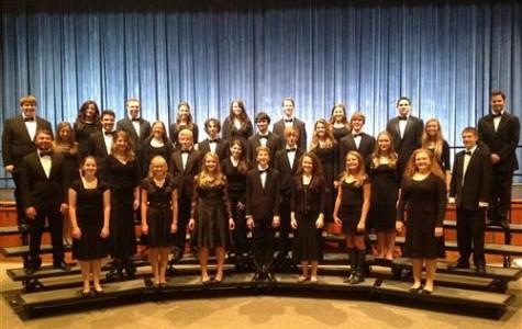 The Westhampton Beach High School Chamber Singers under the direction of Mr. Eric Rubinstein