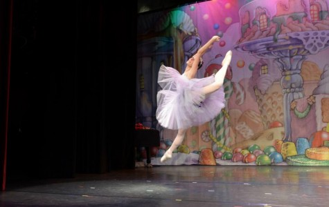 Jill Adams, another instructor at PBT, dancing as the Snow Queen.
