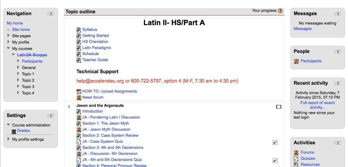 Latin login