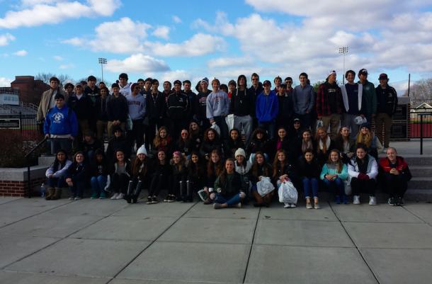 10th Graders Dive Into College