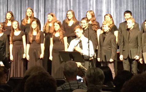 Chamber Choir performs in the spring concert