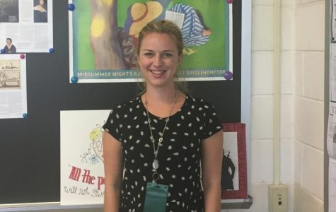 WHB's New English Teacher: Ms. Schmieder