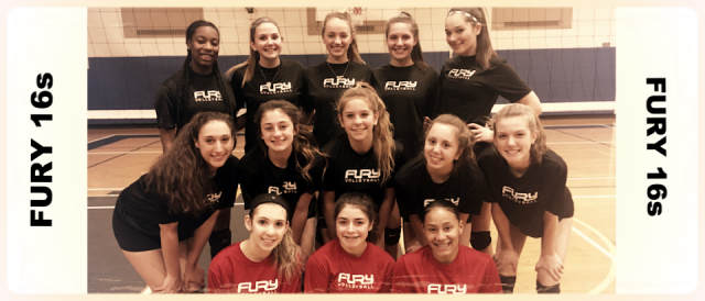 Lindsay Andreopoulos and Jillian Watson's Fury 16s Team.