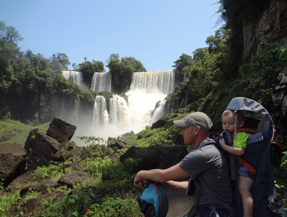 Mrs. Sedano's trip to Argentina and the Iguazu Waterfalls