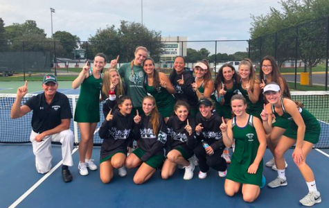 Girls' Tennis Team Serving Up An Undefeated Season