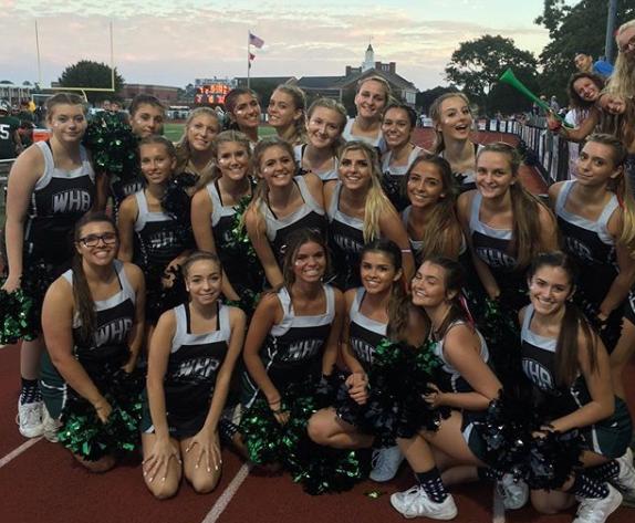 Cheerleaders Put A Pep in Their Step