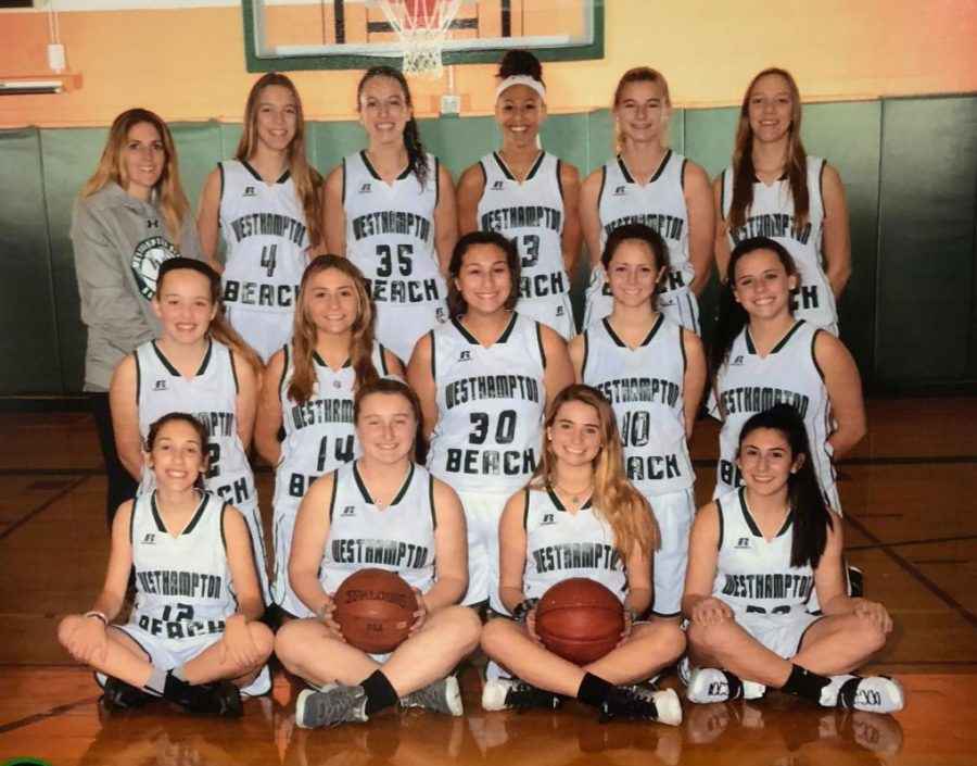 2017-2018+girls+varsity+basketball+team