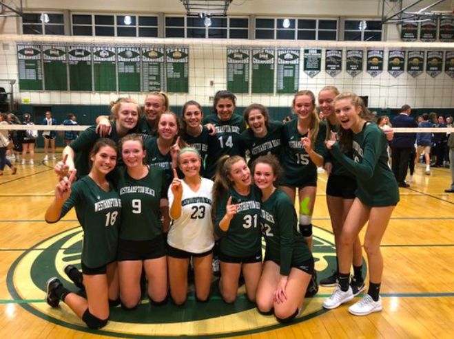 Varsity Girls' Volleyball Made it to County Final
