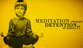 Some schools are replacing detention with meditation