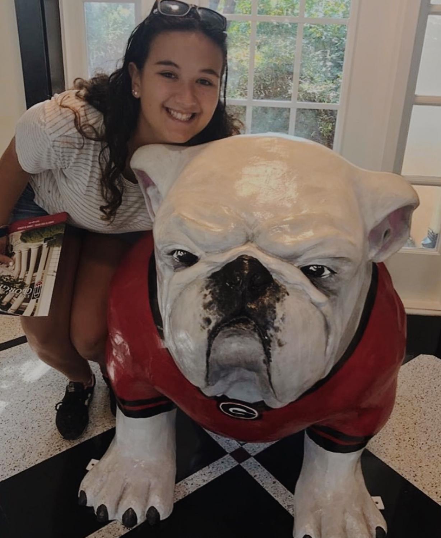 Hannah Donneson is officially a Bulldog!