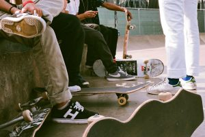 Student Spotlight: Skateboarders of WHB