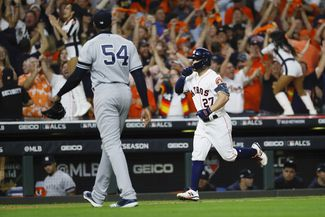 Yankees Fall Short Again, Lose to Astros in ALCS