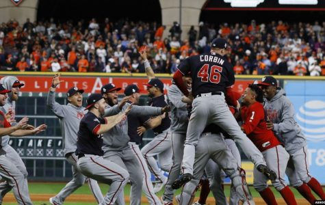 Washington Wins World Series