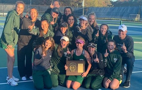 Girls Varsity Tennis Wins Counties
