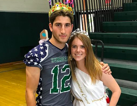 And this year's Mr. and Mrs. Hurricane are...