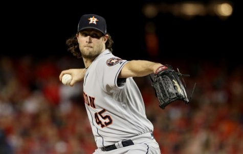 Right-handed pitcher Gerrit Cole