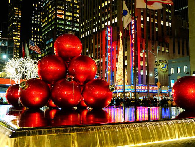Celebrating Christmas in Manhattan
