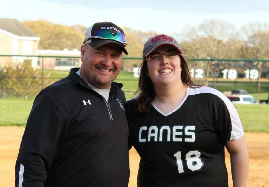 Emma Daniels and Coach Doroski