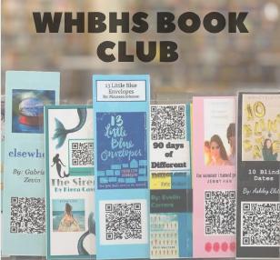 Helen Helps Start Book Club at HS