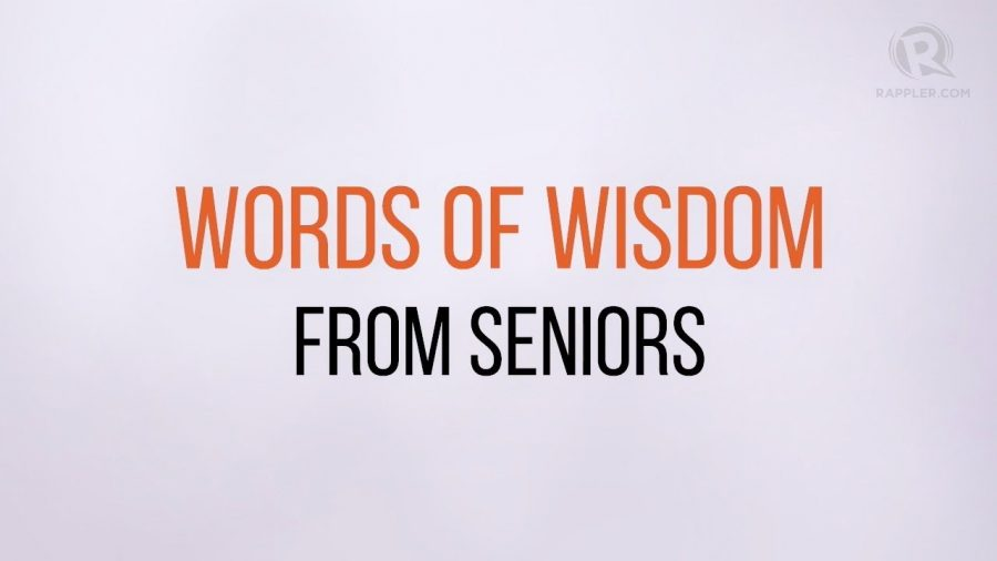 Advice to Incoming Seniors